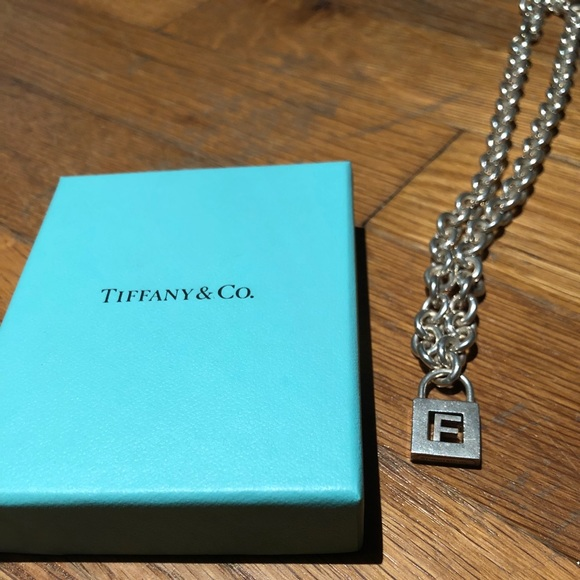 18af9a02afc1 Tiffany & Co. Jewelry | Tiffany F Initial Locket Silver Necklace ...